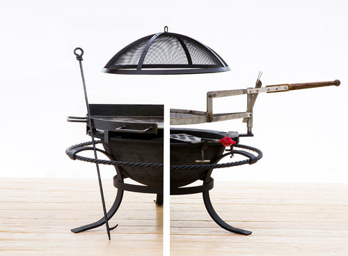 FIRE PIT SEA ISLAND FORGE