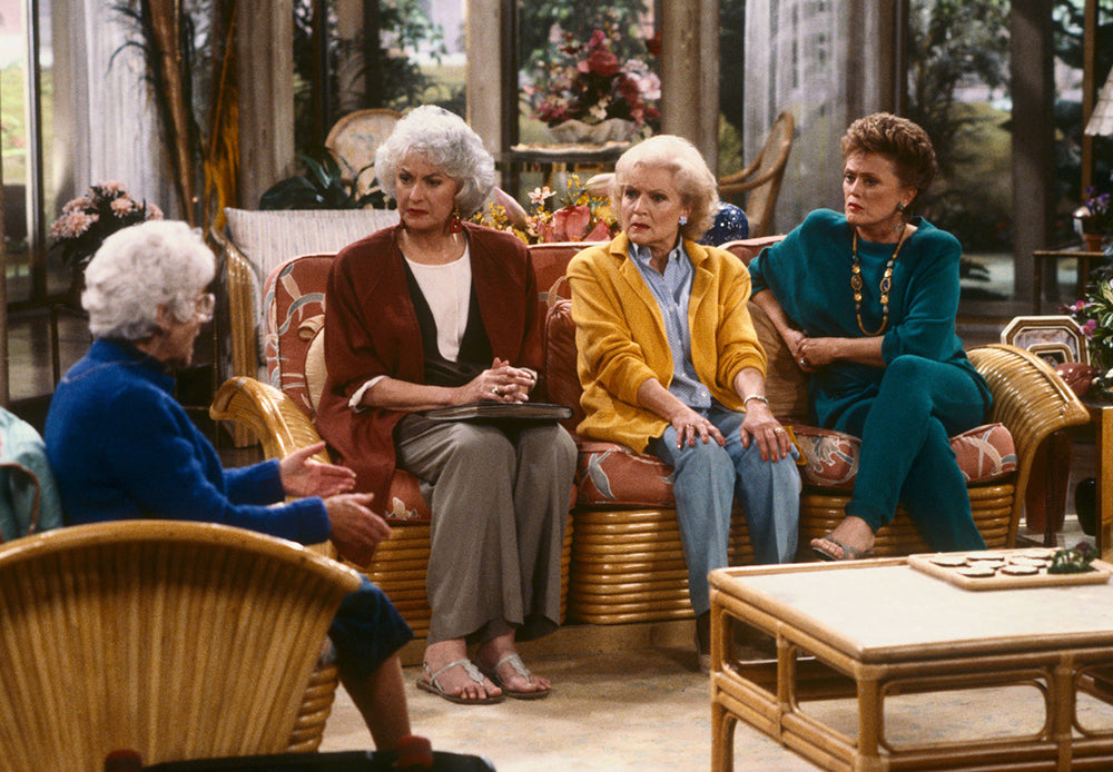 Golden Girls TV home interior design tips small space living
