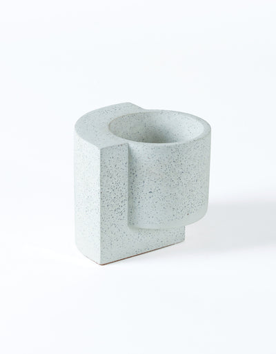 Platform Planter Small White