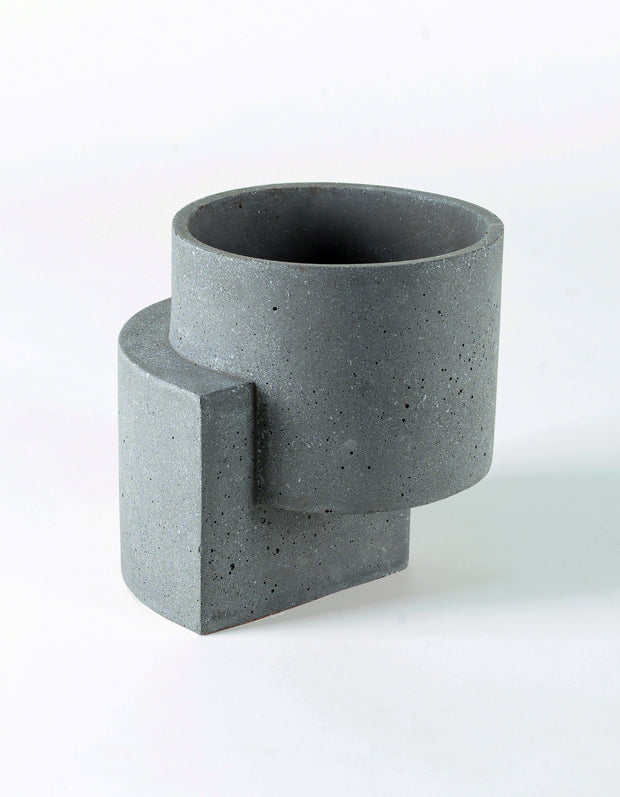 Platform Planter Medium Graphite