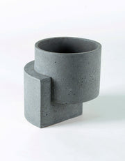 Platform Planter Medium Graphite - Sample