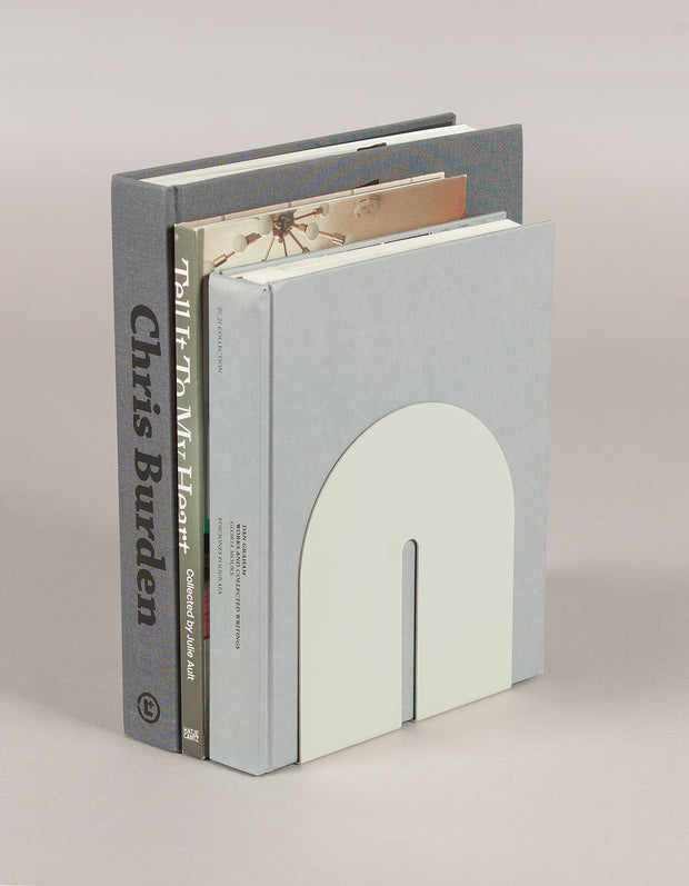 steel designer white bookend gifts for book lover