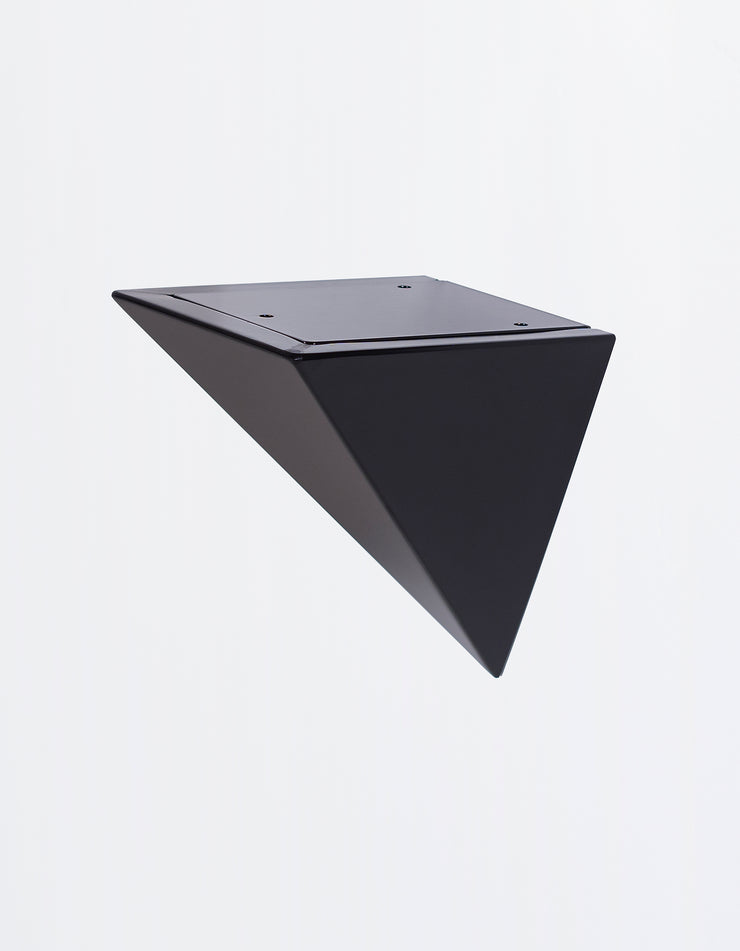Pyramid Bracket in Black Anodized