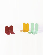 steel colorful bookends desert home accessories for bookshelf