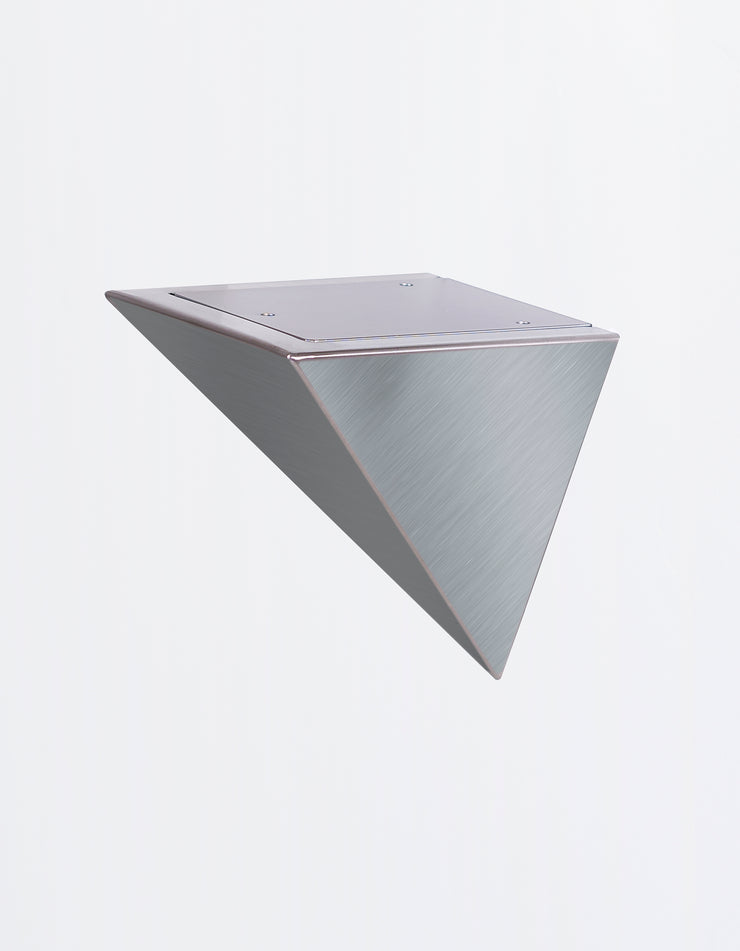 Pyramid Bracket in Stainless Steel