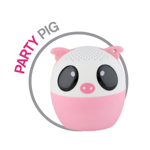 My Audio Pet Party Pig Wireless Bluetooth Speaker with True Wireless Stereo Pig