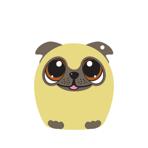 5.0 -  Power Pup the Pug Puppy