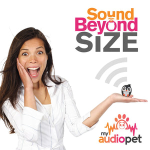 My Audio Pet Ice Ice Baby Wireless Bluetooth Speaker with True Wireless Stereo Sound Beyond Size So Small So Powerful