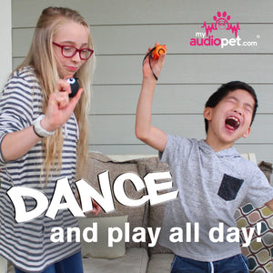 My Audio Pet Ice Ice Baby Wireless Bluetooth Speaker with True Wireless Stereo Penguin and GoldieRocks helping the cute kids dance and play music all day