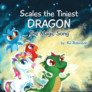 Scales the Tiniest Dragon Book Only