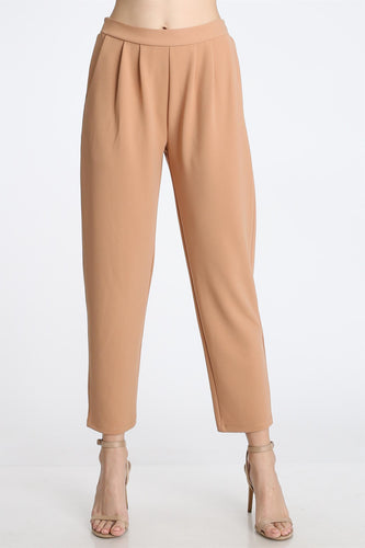 Camel Crop Slacks
