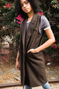 Historically Speaking Long Waistcoat Vest