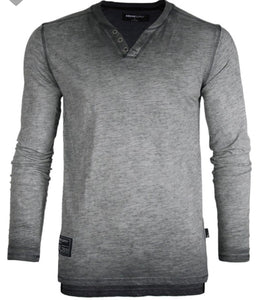 Charcoal Long Sleeve Tee Shirt