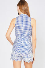 Gingham and Iliot Romper