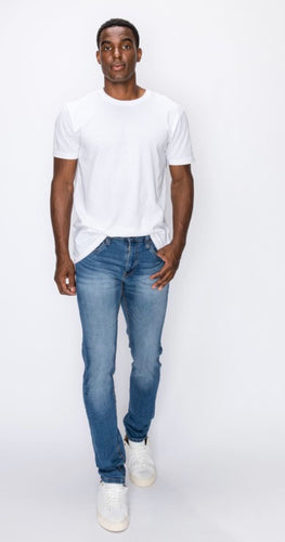 Cuban Sand Five Pocket Slim Jeans