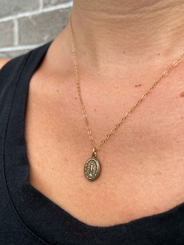 Miraculous Medal Necklace Front