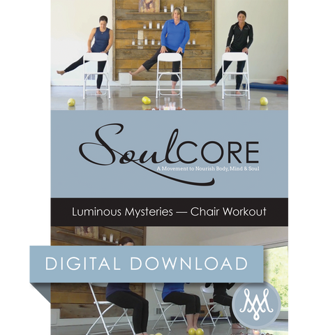 Luminous Mysteries – Chair Workout Digital Download