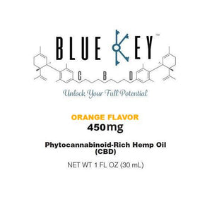 Blue Key CBD - Orange 450