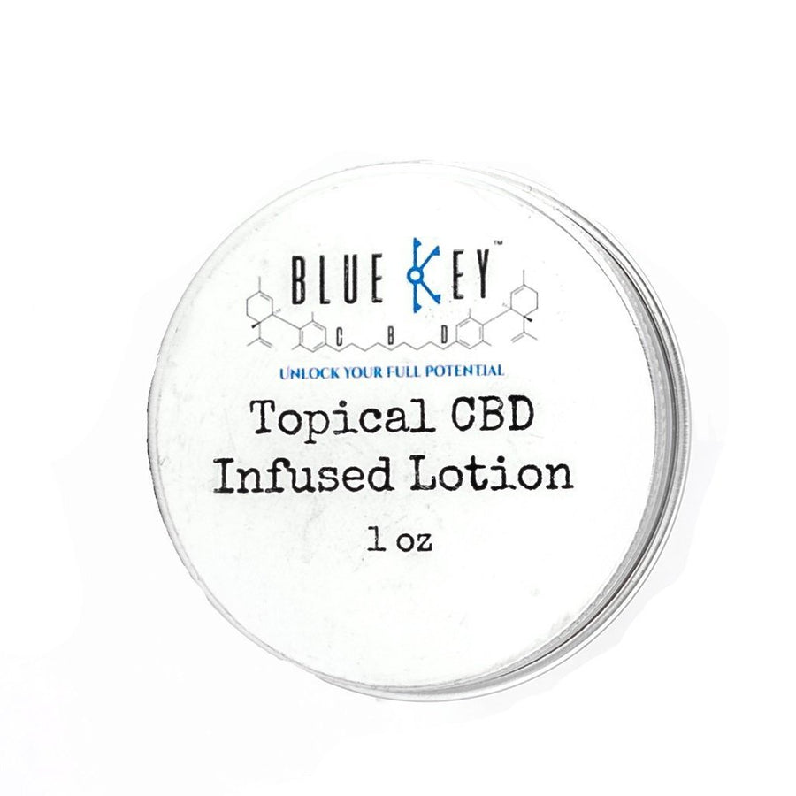 Blue Key CBD - Topical CBD Infused Lotion