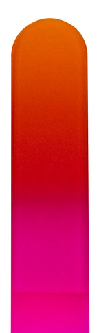 Orange Magenta Color Nail File