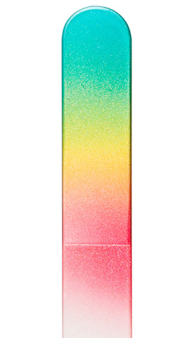 Blue Yellow Pink Color Nail File