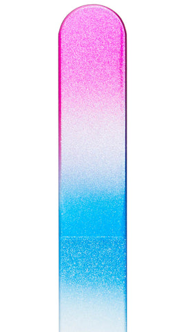 Pink White Blue Color Nail File