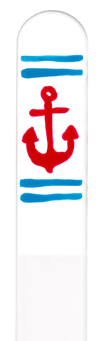 Anchor Hand Painted Nail File