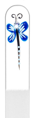 Blue Dragonfly Hand Painted Nail File