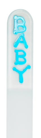 Blue Baby Children's Nail File