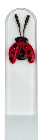 Lady Bug Hand Painted Nail File