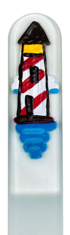 Lighthouse Hand Painted Nail File