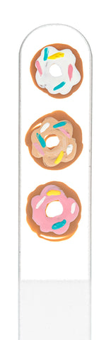 Donut Hand Painted Nail File