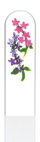 Lilac Hand Painted Nail File