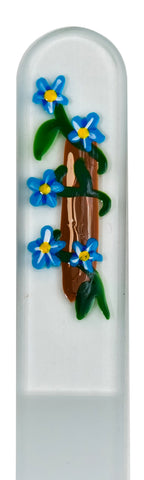 Morning Glory Hand Painted Nail File