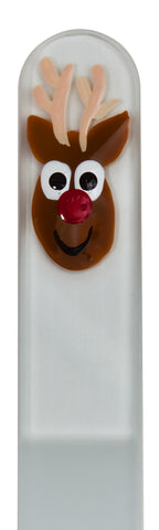 Rudolph Seasonal Hand Painted Nail File