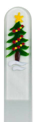 Tree Seasonal Hand Painted Nail File