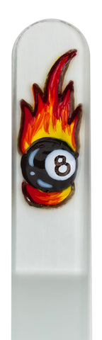 8 Ball Hand Painted Nail File