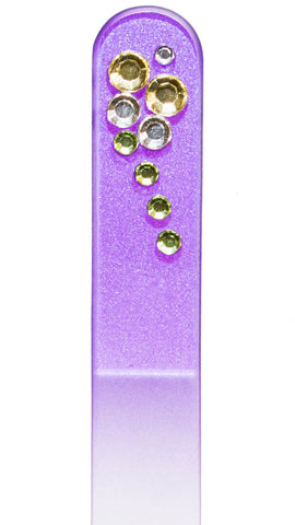 Purple Rhinestone File