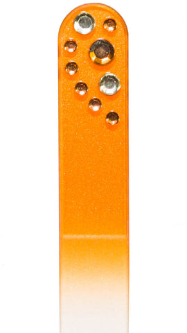 Orange Rhinestone File