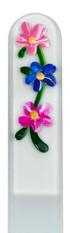 Wild Flower Hand Painted Nail File