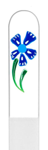 Windmill Flower Hand Painted Nail File