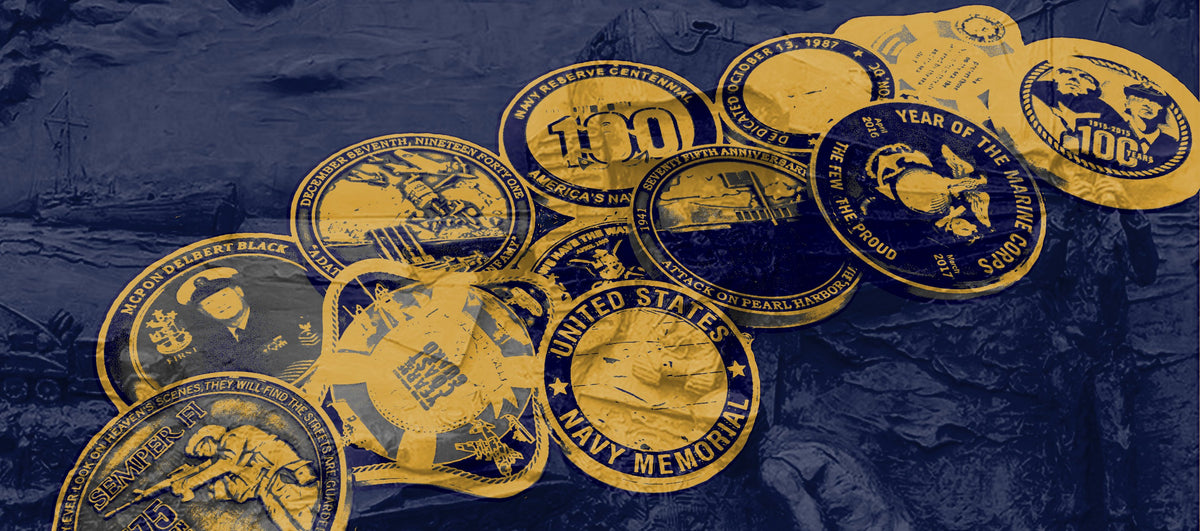 Challenge Coins – The United States Navy Memorial Ship's Store
