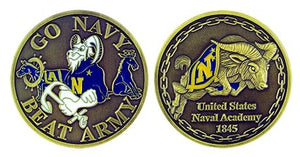 Go Navy Beat Army Coin