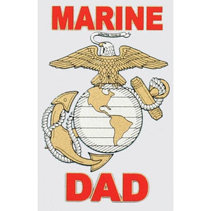 Marine Dad with Eagle Globe and Anchor Decal