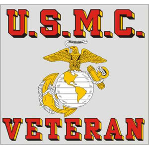 USMC Veteran Decal