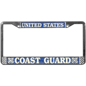United States Coast Guard License Plate Frame