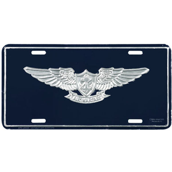 U.S. Navy Air Warfare License Plate