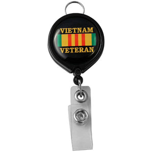 Vietnam Veteran Badge Holder