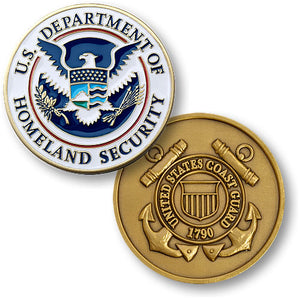 Coast Guard Homeland Security Coin