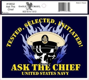 Decal - Ask the Chief